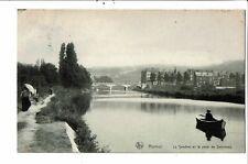 CPA Carte postale- Belgique-Namur-La Sambre et le Pont de Salzinnes -1908VM28924