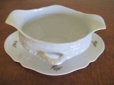 Rosenthal Group Germany - Classic Rose Collection, Gravy Boat with Underplate