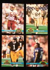 1991 Topps Stadium Club Football Finish Complete your set 10 cards $1.00