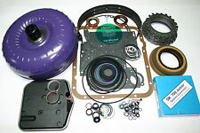 700R4 Rebuild Kit Torque Converter Transgo SK-700jr Shift Kit Overhaul 1987-1993