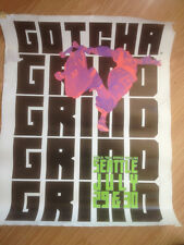 Gotcha Grind Poster - NSA PRO*RAMP TOUR***SEATTLE '89