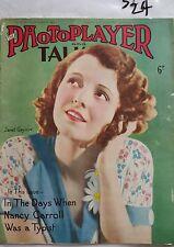 PHOTOPLAYER,1931 SEP 12,JANET GAYNOR Cover,AUSTRALIAN MOVIE REVIEWS ADS & NEWS