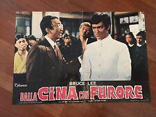 FOTOBUSTA,DALLA CINA CON FURORE JING WU MEN FIST OF FURY  BRUCE LEE kung-fu