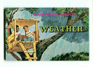 I CAN READ ABOUT WEATHER Robyn Supraner Troll Associates 1985 Book Mott
