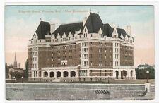 Empress Hotel Victoria British Columbia Canada 1910c postcard