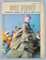 Doll Reader Vintage Collectors Magazine April May 1981 French Fashion Dolls (O)