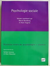 Psychologie sociale : Licence S IONESCU & A BLANCHET éd Puf 2009