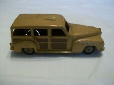 Dinky toys Plymouth Station Wagon, Woody, Early 1950's model 27f first casting?