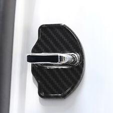 1 Pair Car Door Lock Cover Cap Sticker for Tesla Model X 2016-2020 Accessories