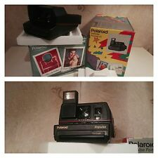 ★PHOTO LAND CAMERA POLAROID IMPULSE PORTRAIT FILM 600 PLUS +FLASH (COMME NEUF)★