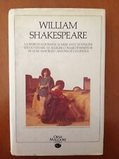 William Shakespeare - Orsa Maggiore Editrice 3389