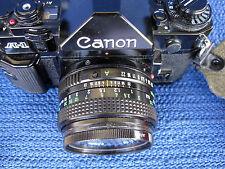 Canon a-1 35 mm reflex avec 50 mm f/1.8 Lentille Kit