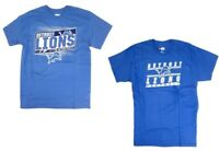 Detroit Lions Mens Short Sleeve T-Shirt NWT Team Apparel Honolulu Blue Sz  Large