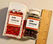 Vintage 1960s UPJOHN Zytmacap Multivitamins Bottle NOS  -- 1728