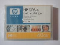 HP DDS4/DDS-4 DAT Data Tape/Cartridge 20/40GB C5718A 4mm NEW