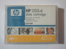 HP DDS4/DDS-4 DAT Data Tape/Cartridge 20/40GB C5718A 4mm NEW