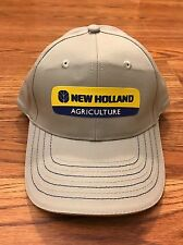 New Holland Agriculture Tractor Baler Combine Harvester Farming Farmer Hat Cap