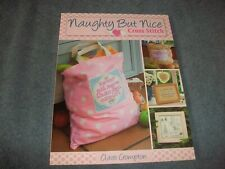 Naughty but Nice Cross Stitch Book by Claire Crompton