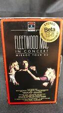 FLEETWOOD MAC IN CONCERT Mirage Tour 1982 BETA Video/Beta HiFi Stereo/Gatefold