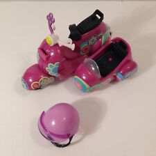 Littlest Pet Shop LPS Blythe Purple Motorcycle Scooter & Helmet