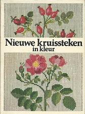 Haandarbejdets Fremme Book Nieuwe Kruissteken in kleur Gerda Bengtsson