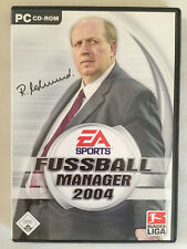 Fussball Manager 2004, PC Game Computerspiel SEHR GUT Bundesliga