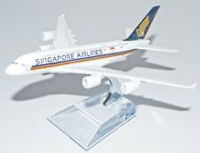 16cm Airbus A380 Singapore airlines Metal Desk Aircraft Plane Model UK