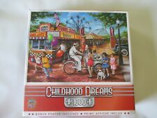 MASTERPIECES 1000 Piece Puzzle - Brand New in Sealed Box - Childhood Dreams