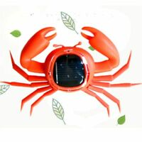 1 Piece Solar Power Toy Crab Shaped Trick Playing Toy Kids Educational Toy