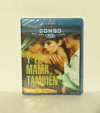 Y Tu Mama Tambien (Blu-ray/Dvd, 2011, Canadian) Alfonso Cuaron New Region A
