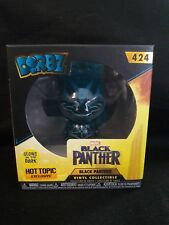 Black Panther Funko Dorbz Hot Topic Exclusive - Glow in the Dark-