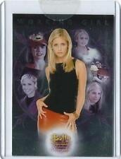 Buffy Women of Sunnydale Case Topper Card CL-1 from Inkworks 2004