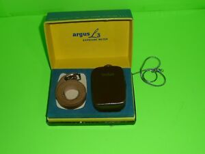 box#8   Vintage Argus Exposure Meter