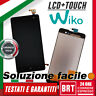 "DISPLAY LCD+TOUCH SCREEN PER WIKO JERRY 5,0"" SCHERMO VETRO MONITOR NERO BRT 24H!"