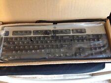 NEW HP USB STANDARD COMPUTER KEYBOARD 434821-002 BLACK & SILVER JB US