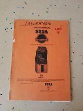 SEGA The Lost World Upright Original Service Manual