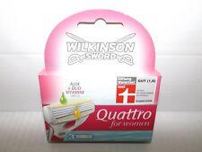 "Wilkinson Quattro Women Rasierklingen 1x 3 Klingen ""Aloe&Duo-Vitamine"" EAN(4309)"