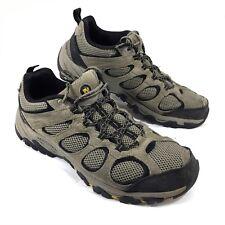 GUC Merrell Ridgepass Hiking Trail Shoes Brown suede + Sz 11 M