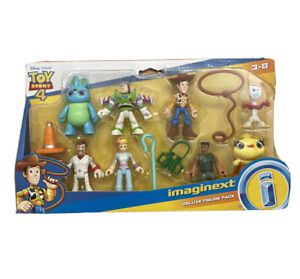Imaginext Kids Disney Toy Story 4 Deluxe Figure Pack-Free Shipping