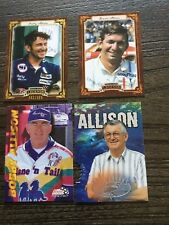 Bobby Allison and Donnie Allison card lot
