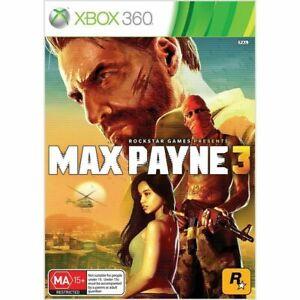 MAX PAYNE 3 Xbox 360 aus GAME