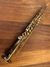 PreOwned SELMER SUPER ACTION SERIES I Soprano Saxophone 350138  Repadded PERFECT