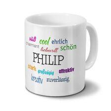 Motiv Wenn Phil es nicht weiß... Tasse mit Namen Phil