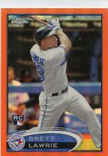 Brett Lawrie 2012 Topps Chrome Orange Refractor Rookie Card RC #173