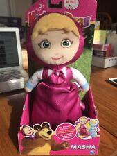Masha and the Bear - Masha - Transforming Doll Plush Blue Pink Netflix Original