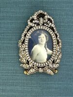 I Am Edgar  Berebi My USA Miniature Frame  Made 2001 Fabrege Quality $175 Retail