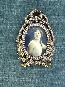 I Am Edgar  Berebi My USA Miniature Frame  Made 2001 Fabrege Quality $175 Retail