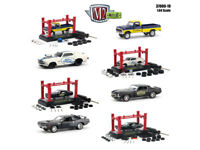 MODEL KIT 4 PIECES CAR SET RELEASE 19 1/64 DIECAST CARS BY M2 MACHINES 37000-19