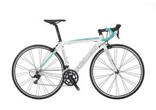 BICI ROAD BIKE BIANCHI VIA NIRONE 7 SHIMANO SORA 9SP SIZE 55