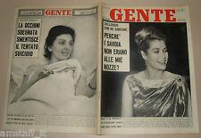 GENTE 1962/5=GRACE KELLY=MARIA CALLAS=BADU PEDROSU=ANGELO ROSSETTI=OTTAVIO JEMMA